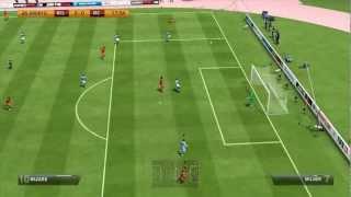 FIFA 13 Gameplay - Manchester City vs Belgium (HD)