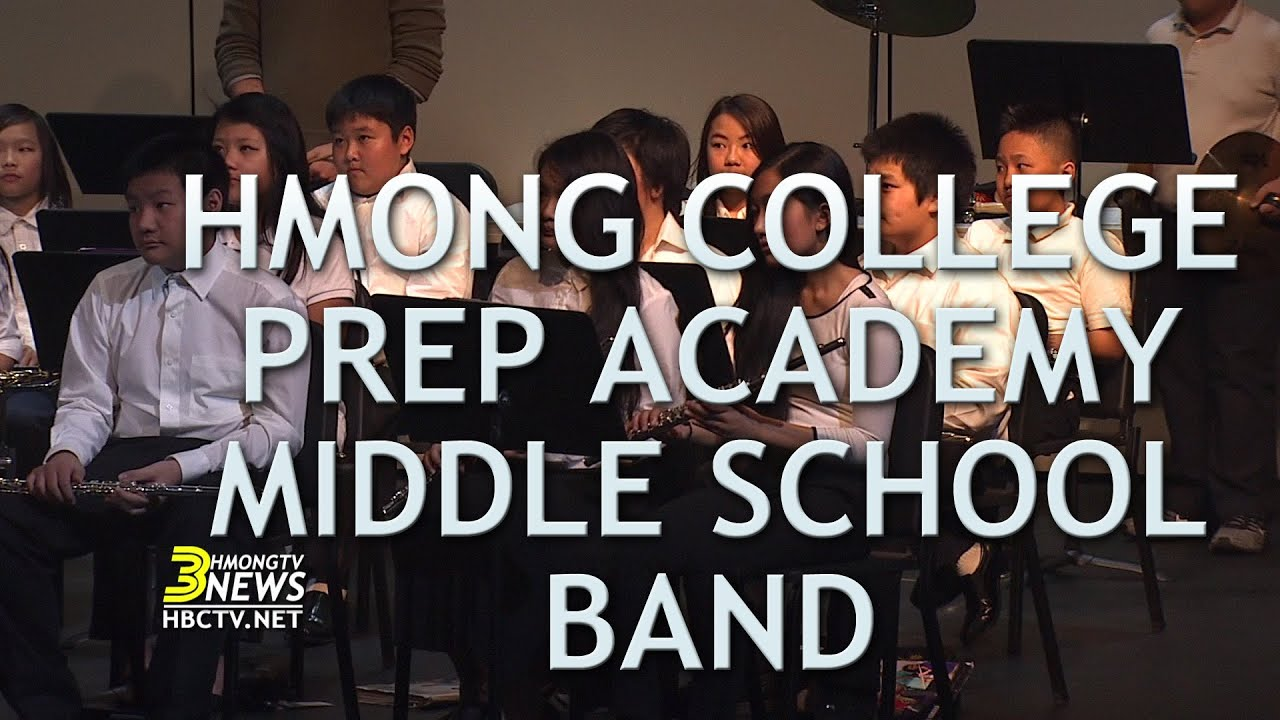 3HMONGTV NEWS: Hmong College Prep Academy Middle School Band, led by ...