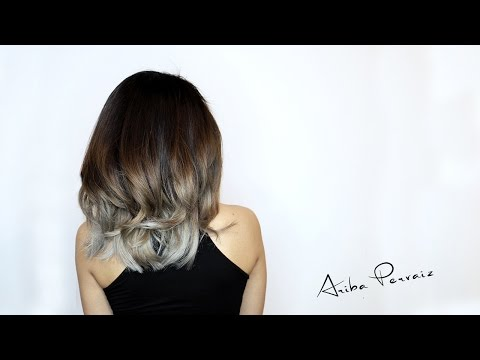 Ash Blonde Balayage Hair Makeover