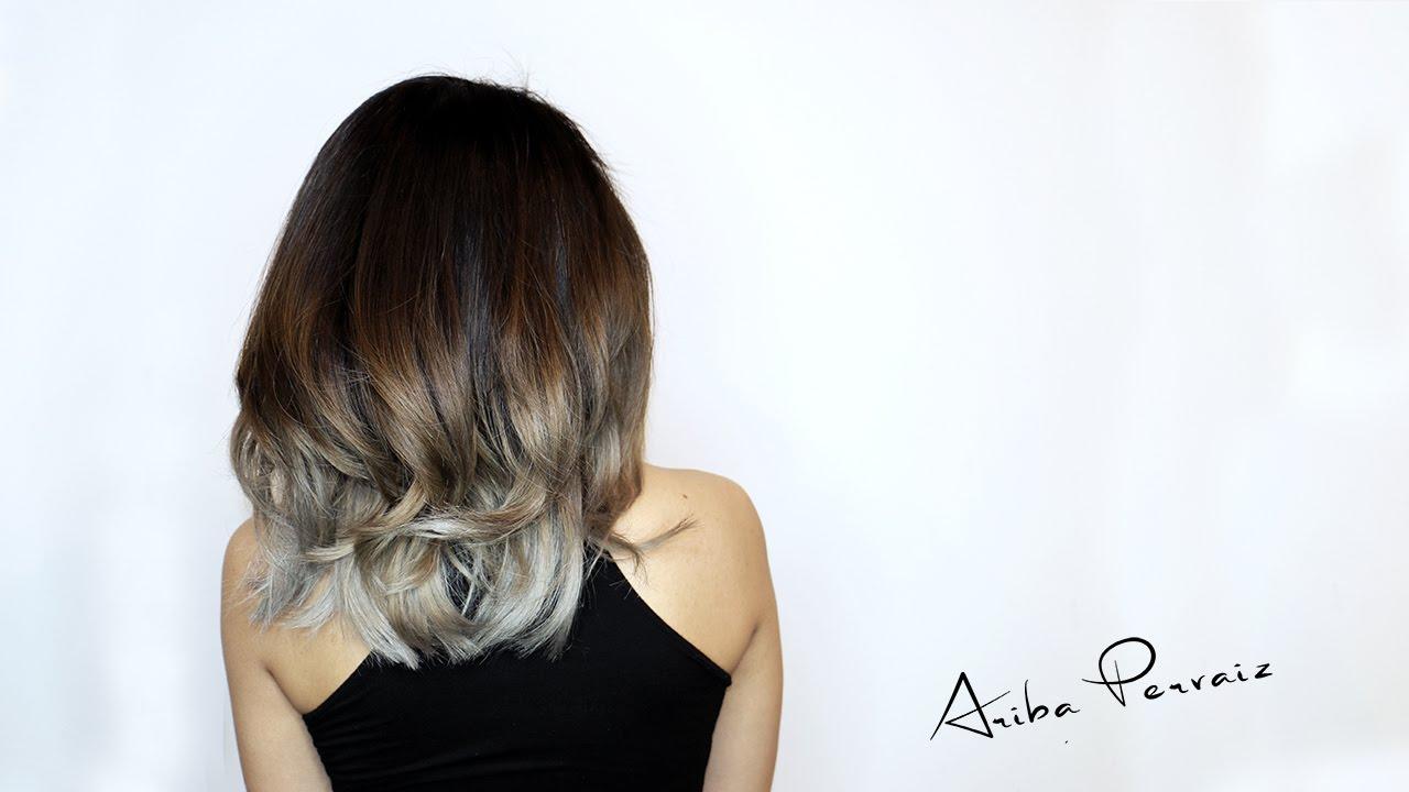 Ash Blonde Balayage , Hair Makeover