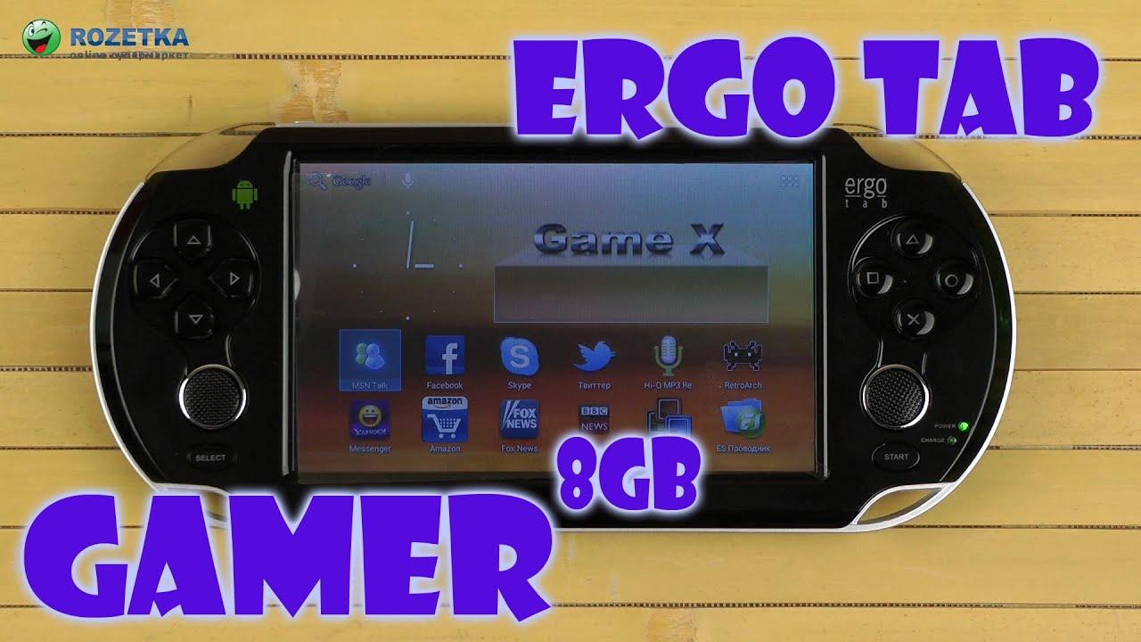 Ergo tab gamer 5 прошивка скачать