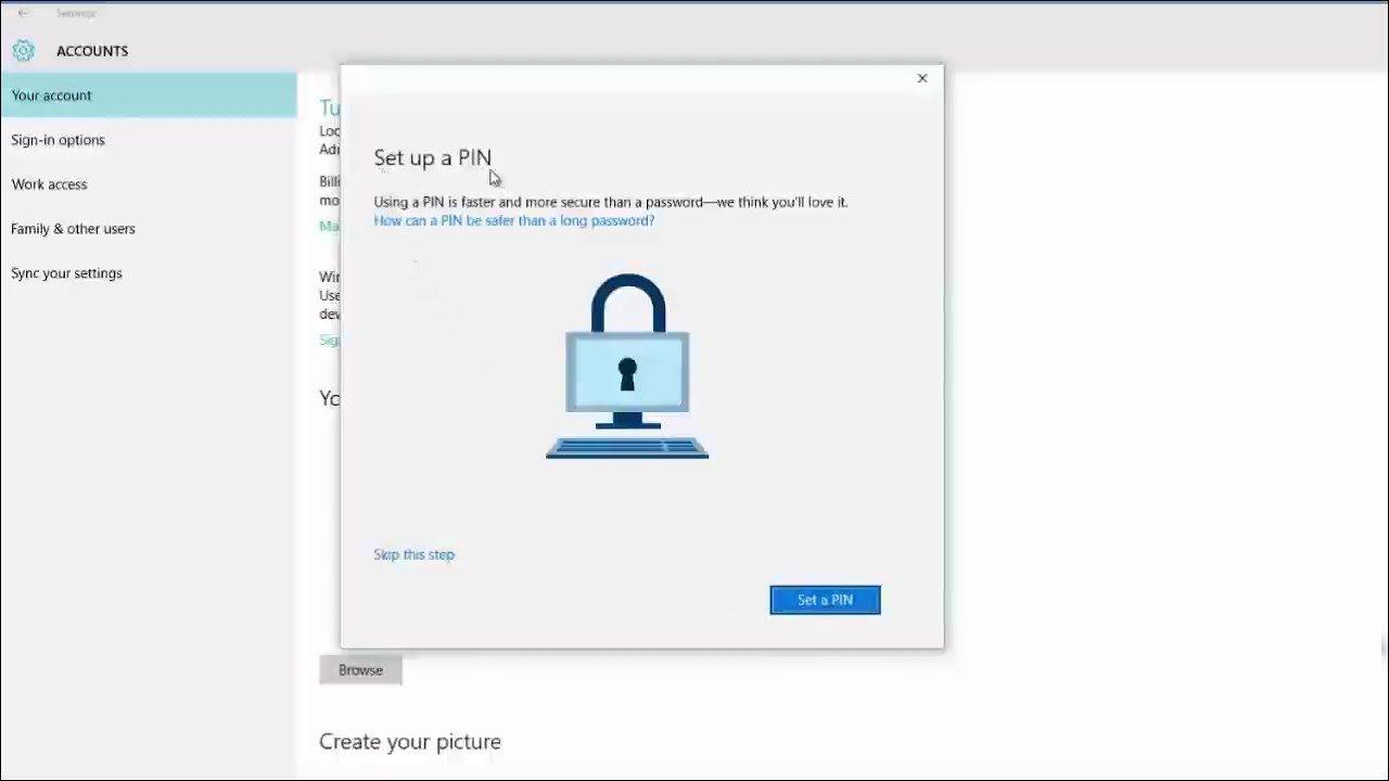 Cách login vào máy tính bằng tài khoản Microsoft
