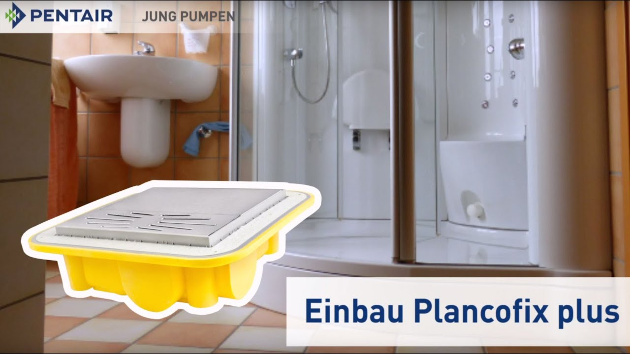 Duschkabine Einbauen Installation Of A Floor Level Shower In A Old Building With Plancofix Plus Eng Subtitles