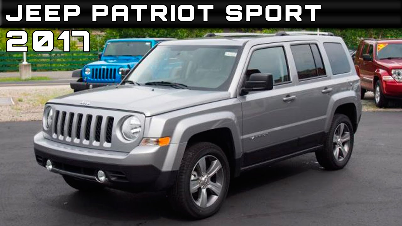 2017 Jeep Patriot Sport Review Rendered Price Specs Release Date