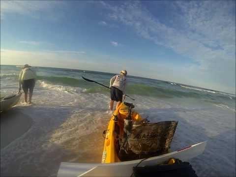 Offshore kayak fishing. Good trip turned bad