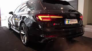 2018 Audi RS4 Avant 450PS Gopro edition (start up sound  rear light reversing etc)