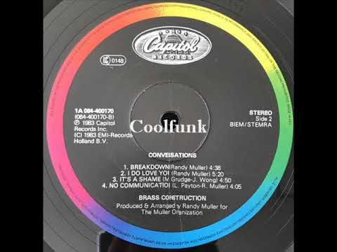 Brass Construction - I Do Love You (Funk 1983) Mp3