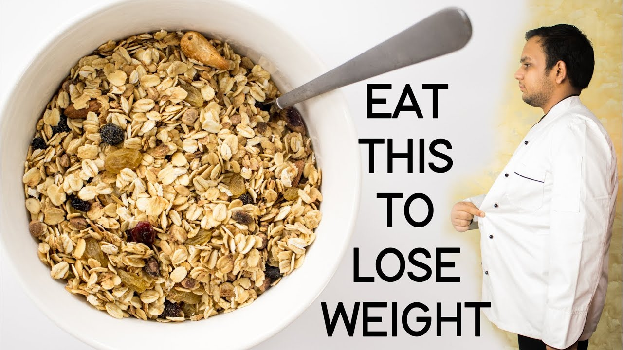 how many grams of oatmeal should i eat to lose weight