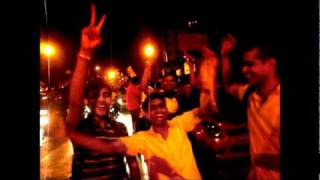 Street Celebrations after India's Cricket World Cup Win 2011 on Carter Road, Mumbai!