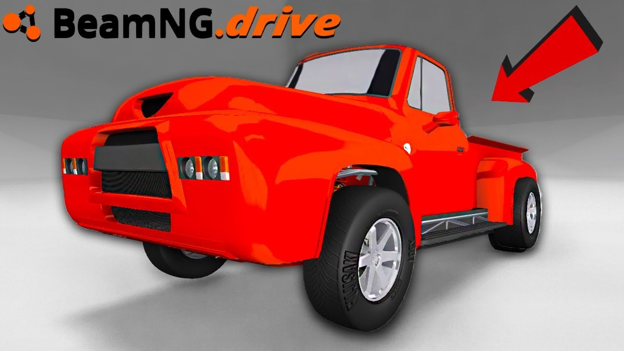 MADE MY OWN MOD - BeamNG drive + Automation