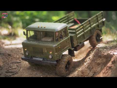 ГАЗ 66 Шишига OFFROAD RC Action TRUCK