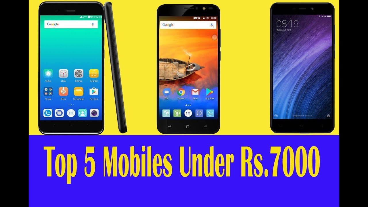 Top 5 4g Volte Mobiles Under Rs 7000 New Updated September 2017