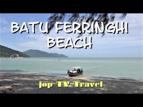 Walk On Batu Ferringhi Beach (Isle Penang) Malaysia Jop TV Travel