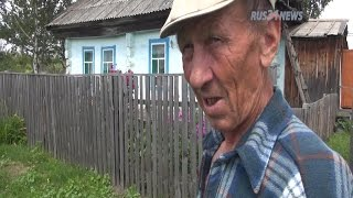 Altai village Sokolovo, Russia - Every one lives good