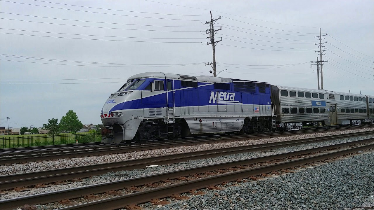 M5 Metra 405 East Franklin Park Il 6 8 19 Youtube