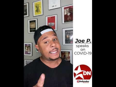 Houston spoken word icon Joe P joins Defender Facebook COVID-19 campaign