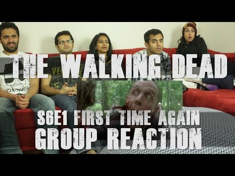 The Walking Dead - S6E1 First Time Again - Group Reaciton