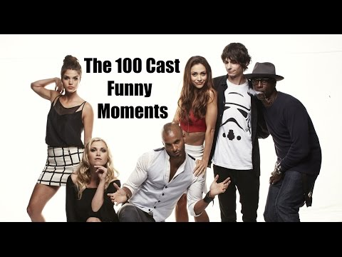 The 100 Cast Funny Moments