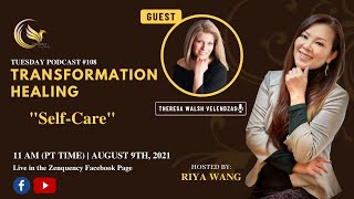 Discover Your Soul Podcast #108 Theresa Walsh Velendzas and Riya Wang