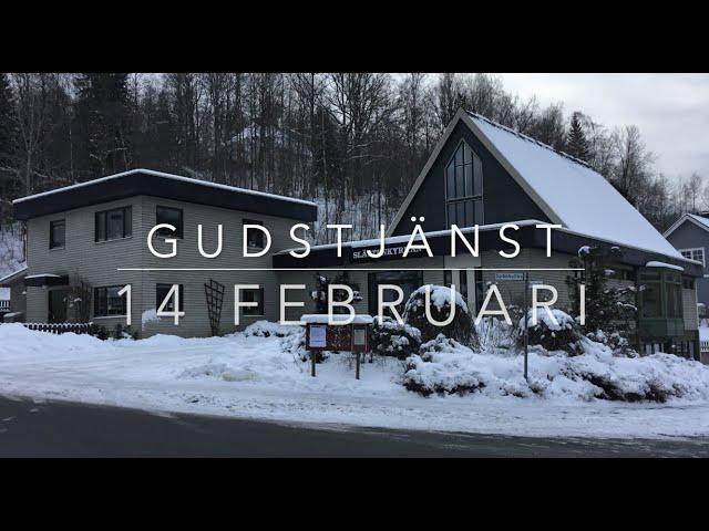 Gudstjänst 14 februari