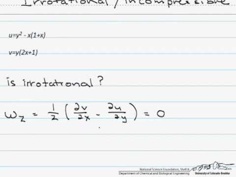 Irrotational & Incompressible Flow