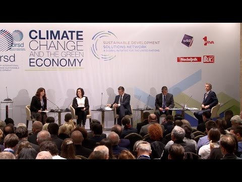 "Climate Change and the Green Economy - ""Rethinking Regional Cooperation"" panel"