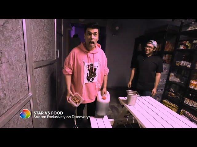 A Battle With Sushi | Karan Johar On Star Vs Food |  discovery+