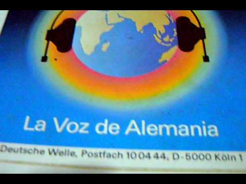 la voz de alemania deutsche welle se al de identificacion 1 985 youtube. Black Bedroom Furniture Sets. Home Design Ideas