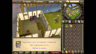 Old School Runescape Guides | Fast & Easy Cooking Levels | For Absolute Beginners!