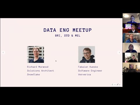 Sydney Data Engineering Meetup - April
