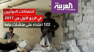 رصد 3 الاف انتهاكات للانقلابيين في 17 محافظة يمنية