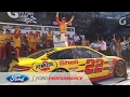 Logano Grabs Crazy Clash Victory to Open 2017 | NASCAR | Ford Performance