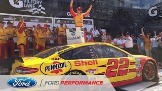 Logano Grabs Crazy Clash Victory to Open 2017   NASCAR   Ford Performance