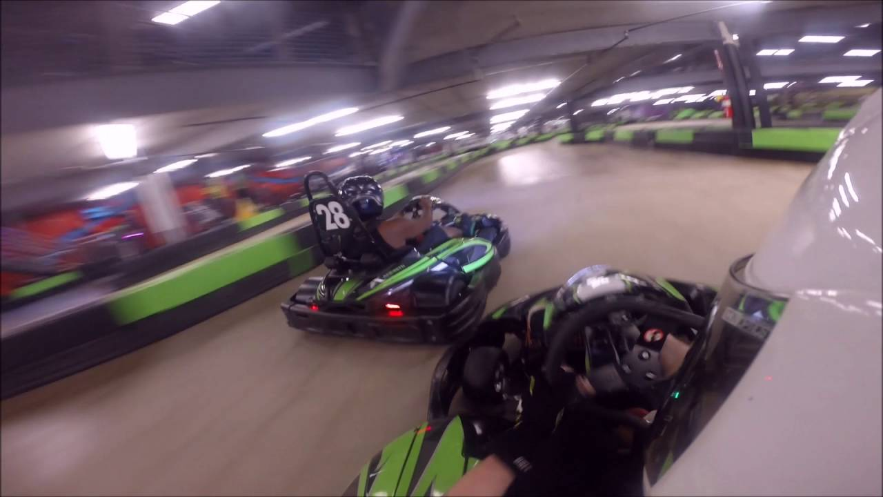 Go Karts Atlanta Ga >> Andretti Indoor Karting Marietta Ga 9 23 16 Youtube