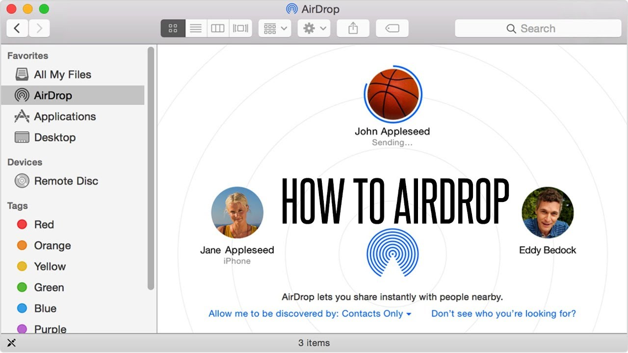 How To Airdrop, How To Instantly Share Files With Airdrop For Iphone Or Ipad