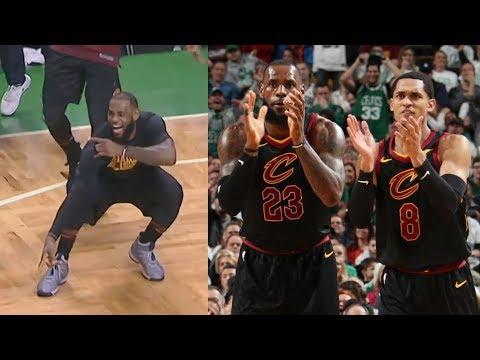 LeBron James vs Kyrie Irving New Cavs Debut Impressive! 2017-18 Season