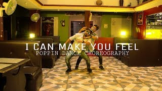 I Can Make You Feel || Step-up Dance Academy || Popping Dance Choreography by Abicake Gautam