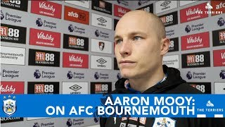 WATCH: Aaron Mooy on Town's 'bad day' at AFC Bournemouth