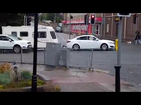 Caravan Handbrake Revenge By Cyclist
