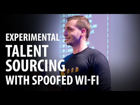 Experiment: Sourcing Talent Using Bogus Wi-Fi [SRD Berlin 2016]