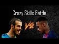 Neymar Jr vs Gareth Bale ● Crazy Skills Battle 2017  HD