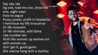 The Weeknd Sidewalks Lyrics.mp3