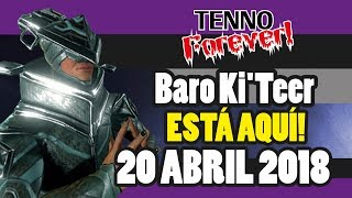 Warframe | Baro Ki´Teer | PS4 | 20 Abril 2018