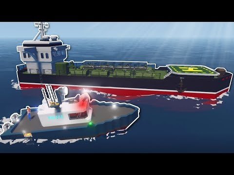 COPS AND ROBBERS OUT AT SEA? - Stormworks Multiplayer Gameplay