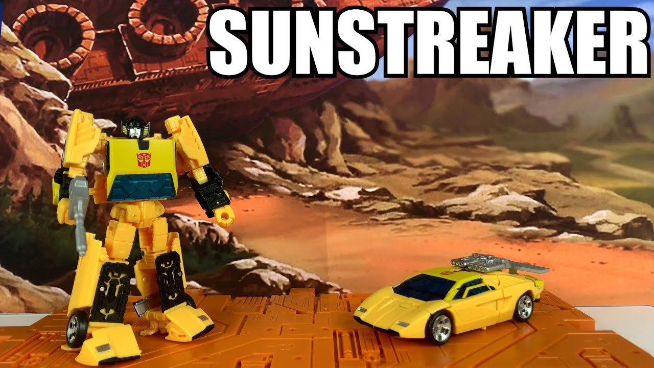 Transformers Earthrise Sunstreaker Unboxing and Review By Enewtabie