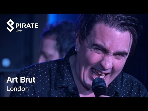 Art Brut - She Kissed Me - And It Felt Like A Hit | Pirate Live