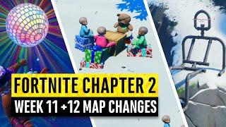 Fortnite   All Chapter 2 Map Updates and Hidden Secrets! WEEK 11 + 12