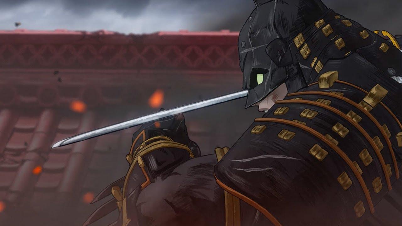Wallpaper 3d Espada Batman Ninja Anime Trailer 2018 Youtube