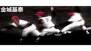 金城基泰 腕を引き上げ,動きを止めたまま肩を捩る Pitching Mechanics Slow Motion