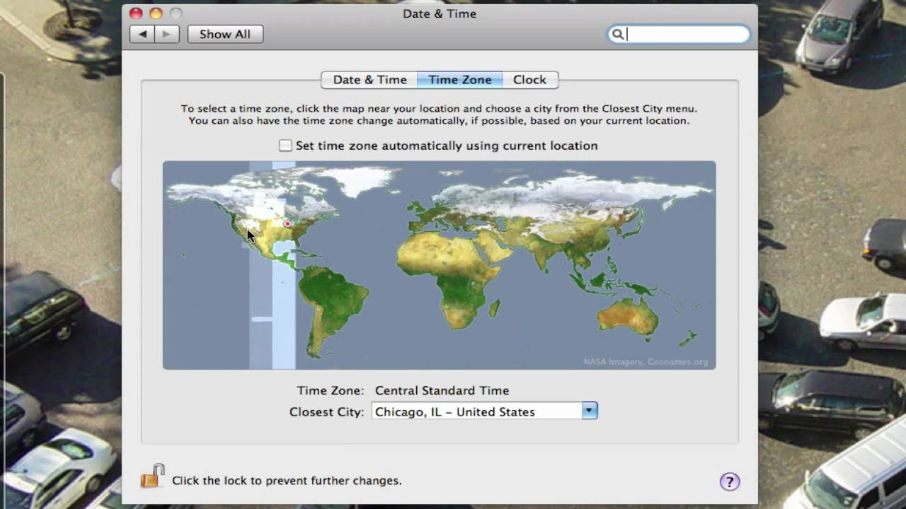 How Do I Change The Time Zone On My Mac YouTube - Chicago map time zone